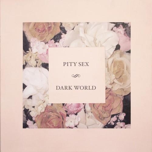 PITY SEX - Dark World LP (Pink/Blue Starburst Vinyl)