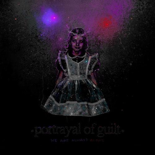 PORTRAYAL OF GUILT - We Are Always Alone LP (SIlver/Black w/ Red Splatter Vinyl)