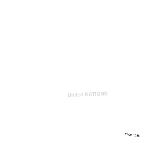 UNITED NATIONS - United Nations LP (White vinyl)
