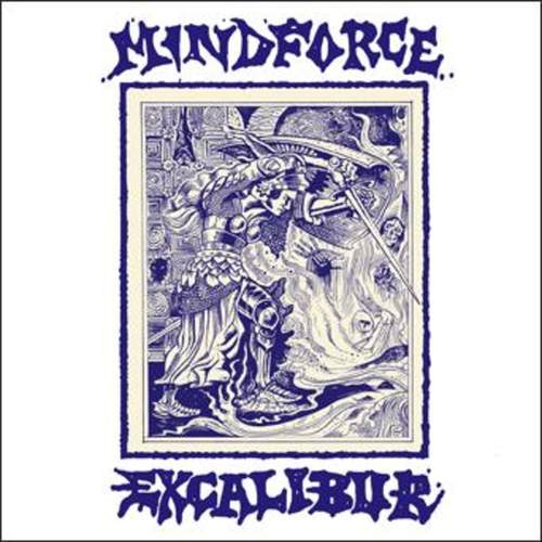MINDFORCE - Excalibur LP + Flexi 7 Coloured Vinyl