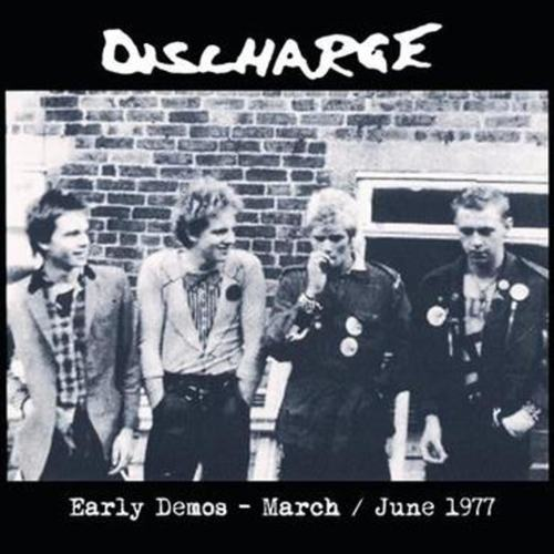 DISCHARGE - Early Demos March - June 1977 LP Red Vinyl