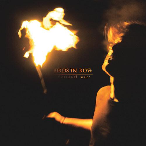 BIRDS IN ROW - Personal War LP Transparent Orange Vinyl