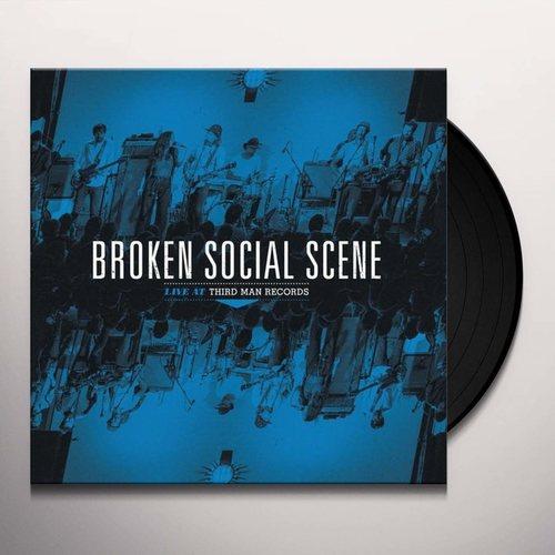 BROKEN SOCIAL SCENE - Live At Third Man Records LP