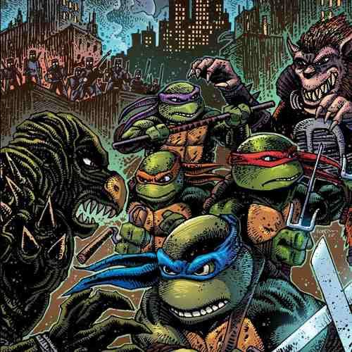 JOHN DUPREZ - Teenage Mutant Ninja Turtles II: Secret Of The Ooze [Original Motion Picture Soundtrack] LP (Ooze Vinyl)