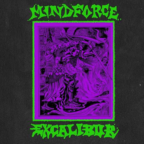 MINDFORCE - Excalibur LP + Flexi 7 Coloured Vinyl