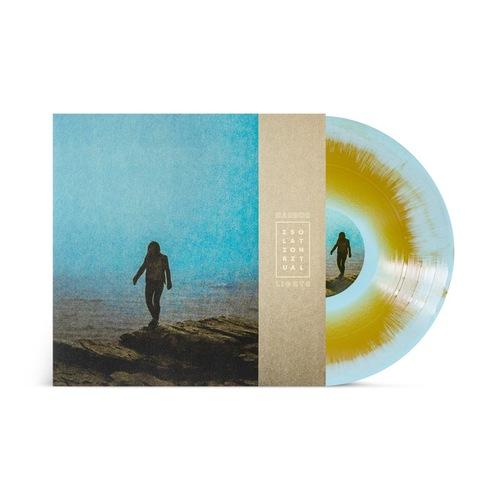HARBORLIGHTS - Isolation Ritual LP GoldLight Blue Mix Vinyl