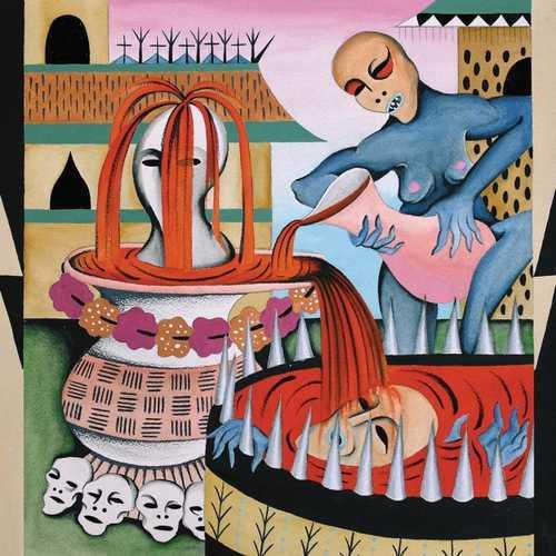 GULCH - Impenetrable Cerebral Fortress LP (Oxblood / Mint Pinwheel colour vinyl)