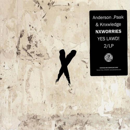 NXWORRIES (KNXWLEDGE X ANDERSON PAAK) - Yes Lawd! 2xLP