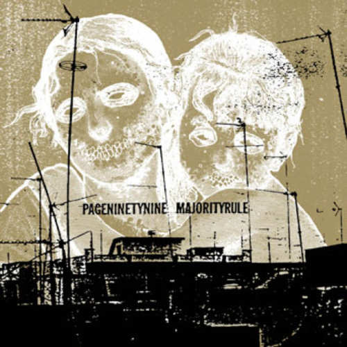 PAGENINETYNINE / MAJORITY RULE - Split LP