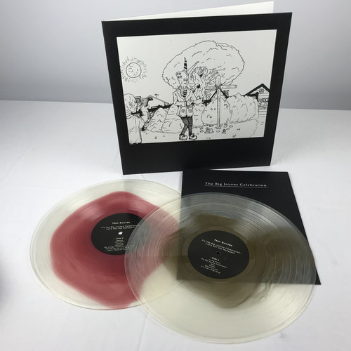 TEEN SUICIDE - Its the Big Joyous Celebration, Lets Stir the Honeypot 2xLP Gold & Oxblood in Clear Vinyl