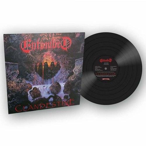 ENTOMBED - Clandestine LP