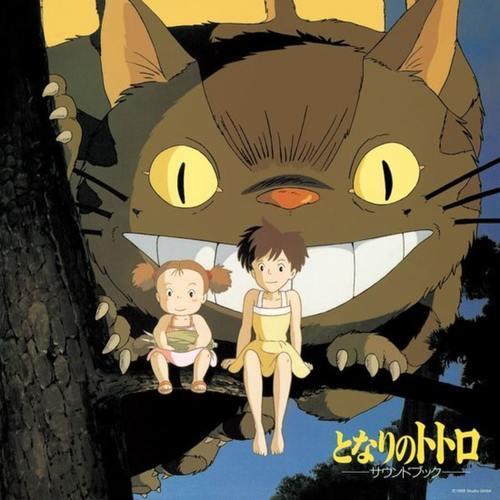 JOE HISAISHI - My Neighbour Totorro (Sound Book) LP