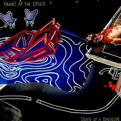 PANIC! AT THE DISCO - Death Of A Bachelor LP (Silver Vinyl)