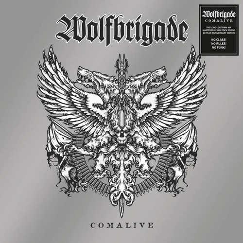 WOLFBRIGADE - Comalive LP Red Vinyl
