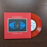 "BASEMENT - Further Sky 7"" (Blood Red/Orange Vinyl)"