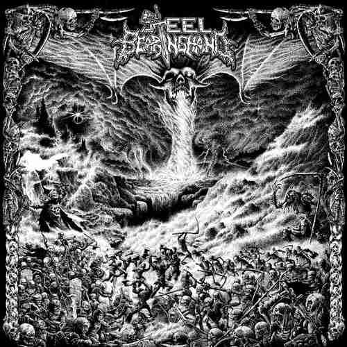 STEEL BEARING HAND - Slay In Hell LP (Red vinyl)