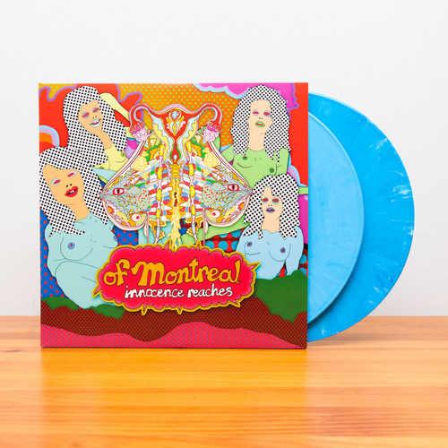 OF MONTREAL - Innocence Reaches 2xLP (180g, Light Blue Vinyl)