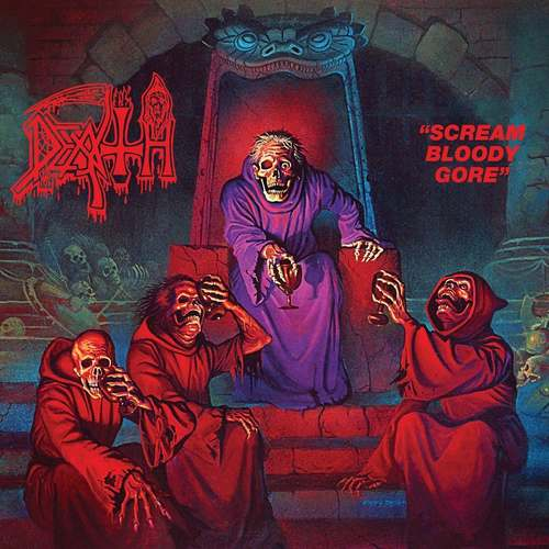 DEATH - Scream Bloody Gore LP