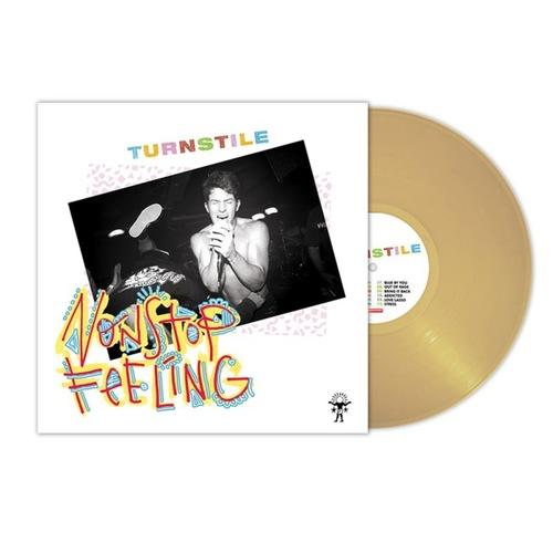 TURNSTILE - Nonstop Feeling LP Beer Colored vinyl