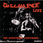 DISCHARGE - The Nightmare Continues LP Red vinyl
