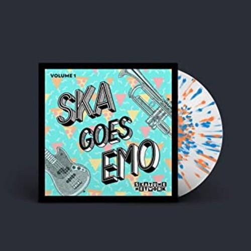 SKATUNE NETWORK - Ska Goes Emo Vol. 1 LP Colour Vinyl