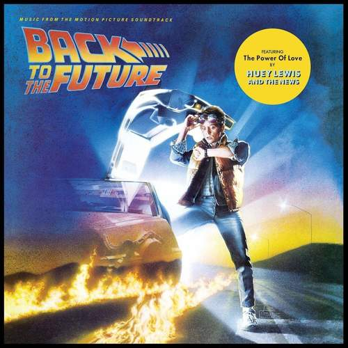 VA - Back To The Future Music From The Motion Picture Soundtrack LP