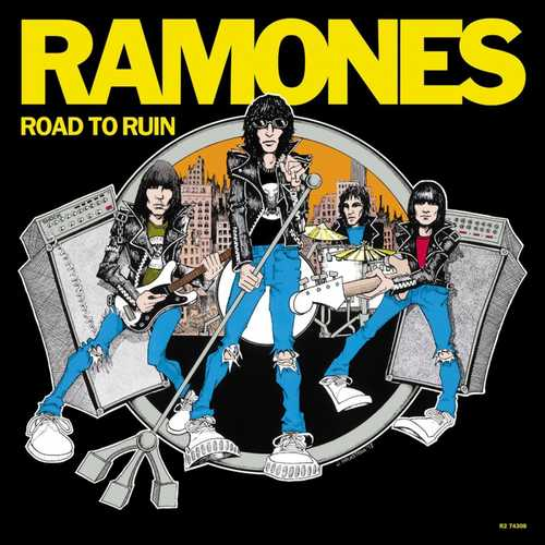 RAMONES - Road To Ruin LP 180g