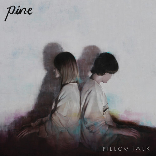 PINE - Pillow Talk 12EP Pink with Green Swirl Vinyl