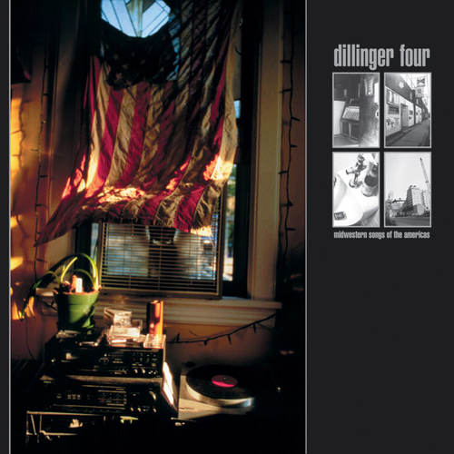 DILLINGER FOUR - Midwestern Songs Of The Americas LP Gold Vinyl