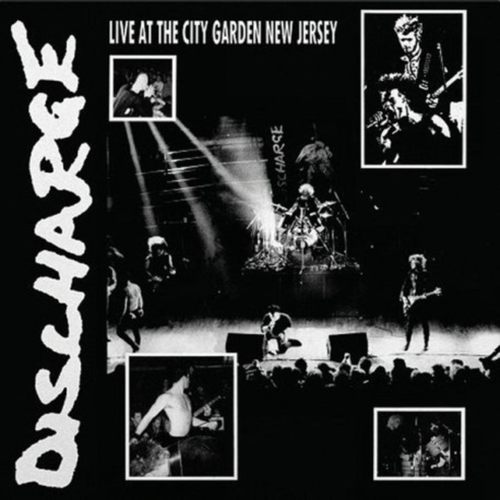 DISCHARGE - Live at City Garden New Jersey LP Clear vinyl