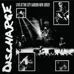 DISCHARGE - Live at City Garden New Jersey LP Clear vinyl