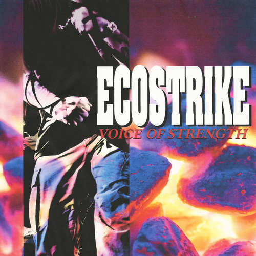 ECOSTRIKE - Voice Of Strength LP Maroon Vinyl