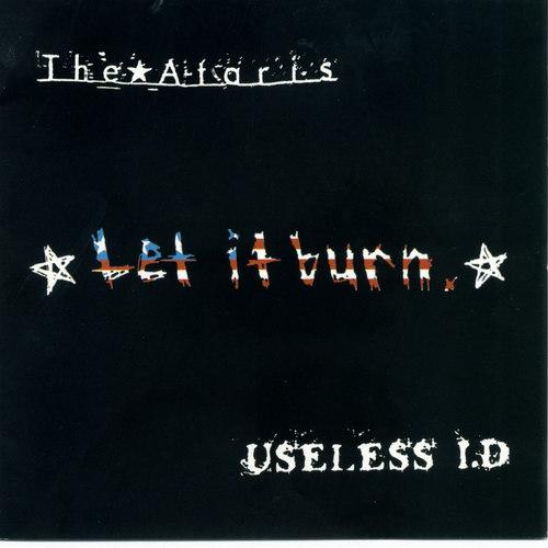 THE ATARIS  USELESS I.D. - Split LP