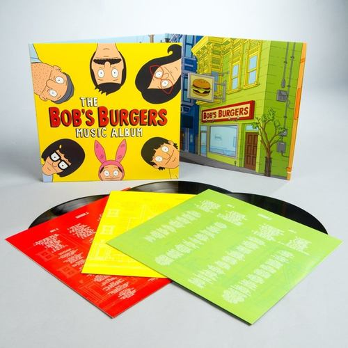VA - The Bobs Burgers Music Album 3xLP