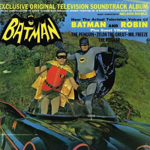 NELSON RIDDLE - Batman (Exclusive Original TV Soundtrack) LP