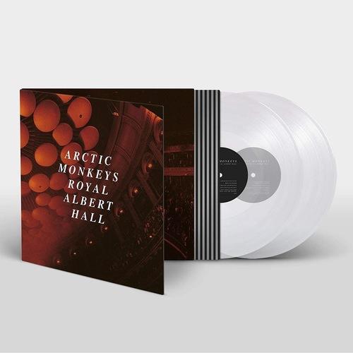 ARCTIC MONKEYS - Live At The Royal Albert Hall 2xLP (Limited Edition 180gram Clear vinyl)