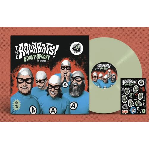 AQUABATS, THE - Kooky Spooky In Stereo LP (Glow In The Dark Vinyl)