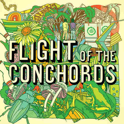 FLIGHT OF THE CONCHORDS - S/T LP