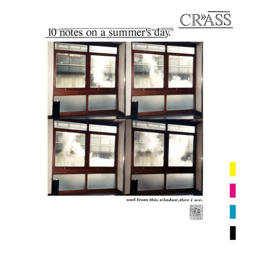 CRASS - 10 Notes On A Summers Day LP