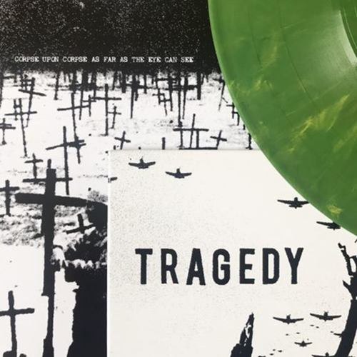 TRAGEDY - Fury LP Green Marble vinyl