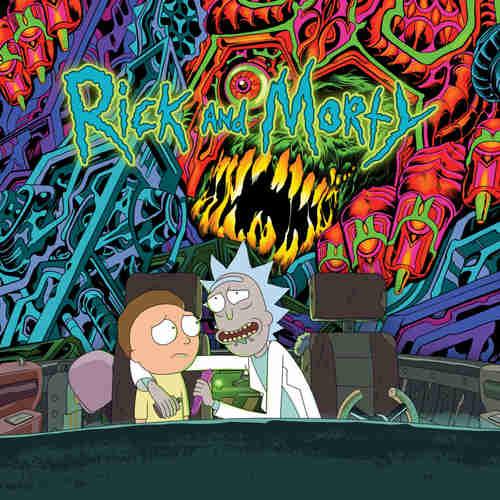 VA - The Rick And Morty Soundtrack 2xLP Colour Vinyl