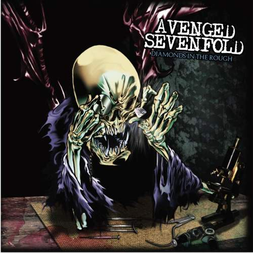 AVENGED SEVENFOLD - Diamonds In The Rough 2xLP (Clear Vinyl)
