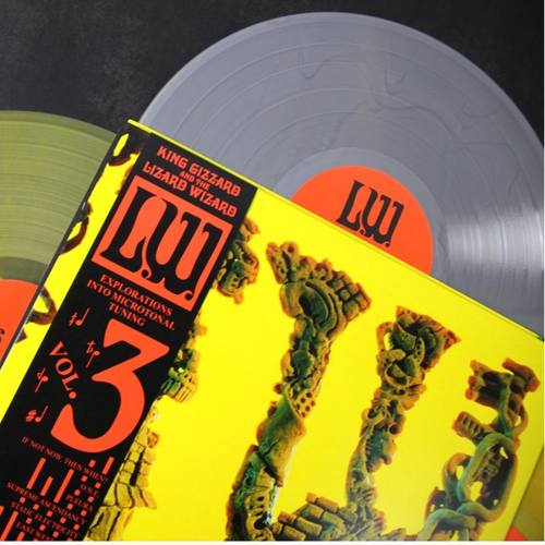 KING GIZZARD & THE LIZARD WIZARD - L.W. LP (Silver vinyl anvil edition)