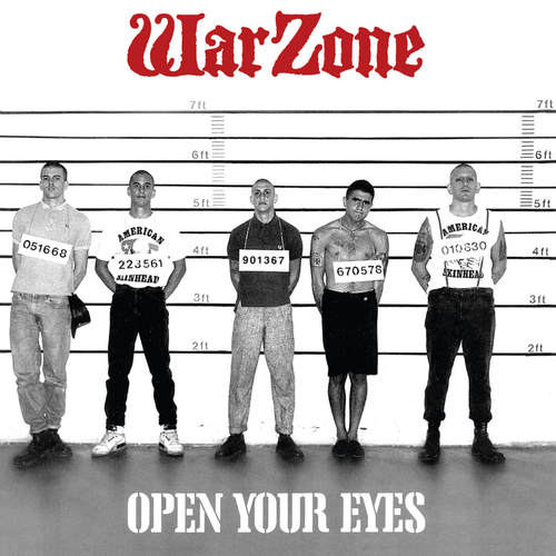 WARZONE - Open Your Eyes LP Red Vinyl