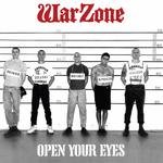 WARZONE - Open Your Eyes LP Red Vinyl