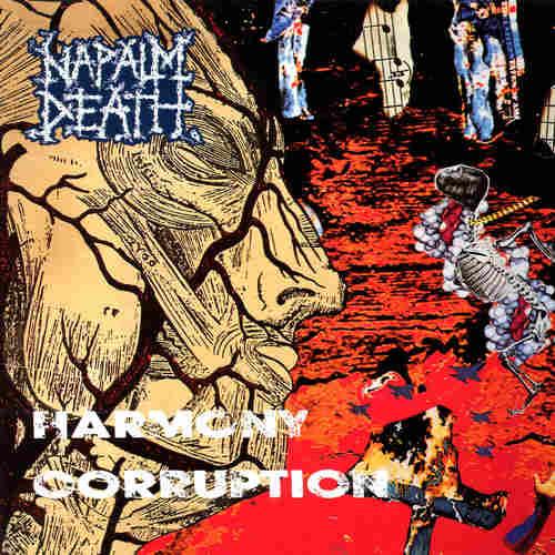 NAPALM DEATH - Harmony Corruption LP
