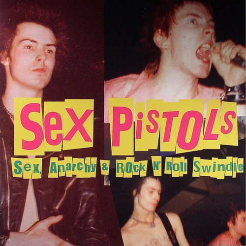 SEX PISTOLS - Sex, Anarchy & Rock N Roll Swindle LP Colour Vinyl