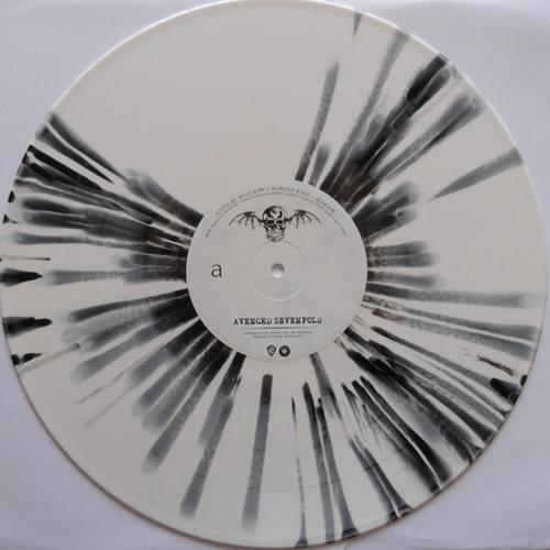 AVENGED SEVENFOLD - Avenged Sevenfold 2xLP WhiteBlack Splatter vinyl