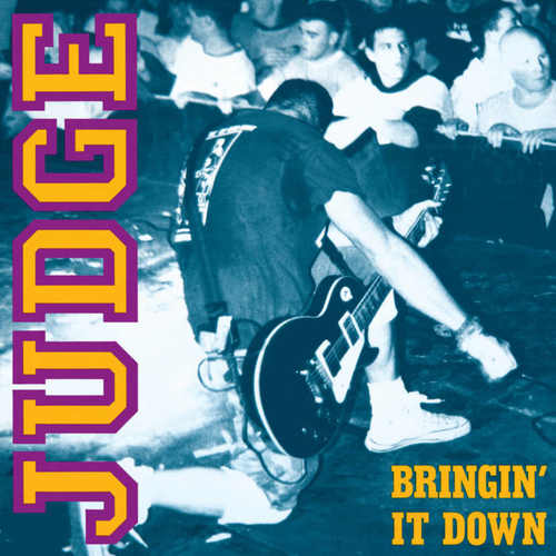 JUDGE - Bringin it Down LP Blue Vinyl