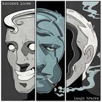 KNOCKED LOOSE - Laugh Tracks LP colour vinyl